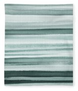 Gorgeous Grays Abstract Interior Decor I Fleece Blanket