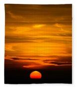 Gorgeous Sunset Fleece Blanket