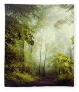 Gorgeous Woods Fleece Blanket