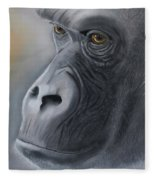 Gorilla Love Fleece Blanket