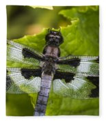 Gossamer Wings Fleece Blanket