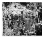 Gotham Castles Fleece Blanket