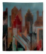 Gothem City Fleece Blanket