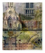 Gothic Fleece Blanket