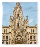 Gothic Cathedral In Havana Fleece Blanket