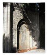 Gothic Darkness. Old Gate Fleece Blanket