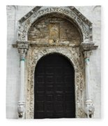 Gothic Entrance Fleece Blanket