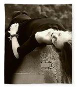 Gothic Tragedy Fleece Blanket
