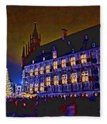 Gouda By Candlelight-1 Fleece Blanket