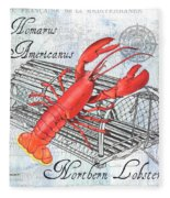 Gourmet Shellfish 2 Fleece Blanket