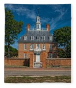 Governor's Palace Fleece Blanket
