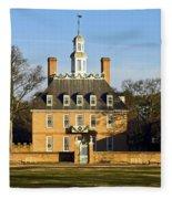 Governor's Palace Williamsburg Fleece Blanket