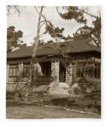 Grace H Dodge Chapel Auditorium Asilomar Circa 1925 Fleece Blanket
