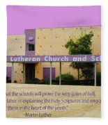 Grace Lutheran School Fleece Blanket