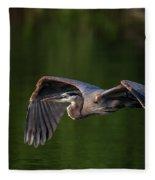 Graceful Flight Fleece Blanket