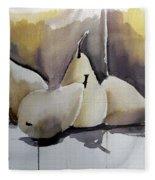 Graceful Pears Fleece Blanket