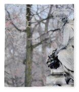 Graceland Cemetery Fleece Blanket