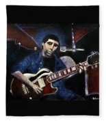Graceland Tribute To Paul Simon Fleece Blanket