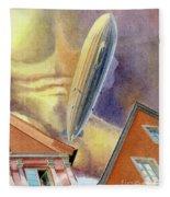 Graf Zeppelin Fleece Blanket