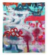 Graffiti 1 Fleece Blanket