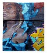Graffiti 19 Fleece Blanket