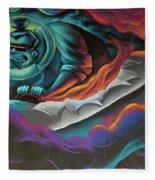 Graffiti 2 Fleece Blanket