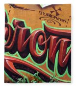 Graffiti 22 Fleece Blanket