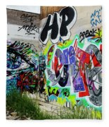 Graffiti 3 Fleece Blanket