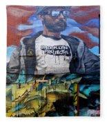 Graffiti 6 Fleece Blanket