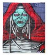Graffiti 8 Fleece Blanket