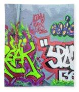 Graffiti Art 05102017a Fleece Blanket
