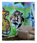 Graffiti Art Albuquerque New Mexico 7 Fleece Blanket