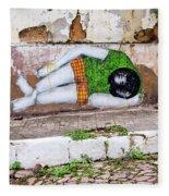 Graffiti Art Lencois Brazil Fleece Blanket