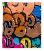 Graffiti Art Nyc 10 Fleece Blanket