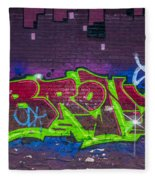 Graffiti Art Nyc 2 Fleece Blanket