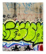 Graffiti Art Nyc 3 Fleece Blanket