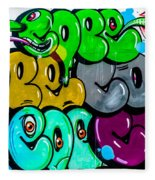 Graffiti Art Nyc 8 Fleece Blanket