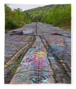 Graffiti Highway, Facing South Fleece Blanket