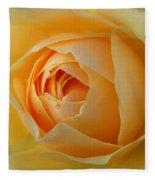 Graham Thomas Old Fashioned Rose Fleece Blanket by Jocelyn Friis