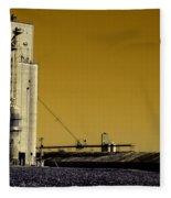 Grain Storage Infrared No2 Fleece Blanket