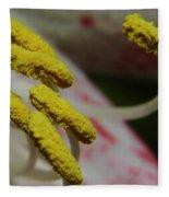 Grains Of Pollen Fleece Blanket