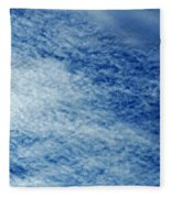 Grainy Sky Fleece Blanket