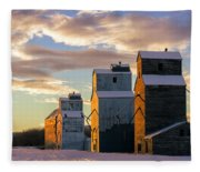 Granary Row Fleece Blanket