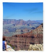 Grand Canyon 14 Fleece Blanket
