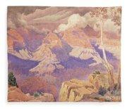 Grand Canyon, 1927  Fleece Blanket