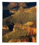 Grand Canyon Arizona Light And Shadow 1 Fleece Blanket