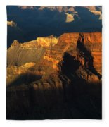 Grand Canyon Arizona Light And Shadow 2 Fleece Blanket