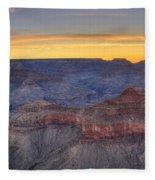 Shimmering Warmth In Panoramic Fleece Blanket