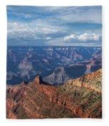 Grand Canyon View 1 Fleece Blanket