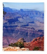 Grand Canyon View Fleece Blanket